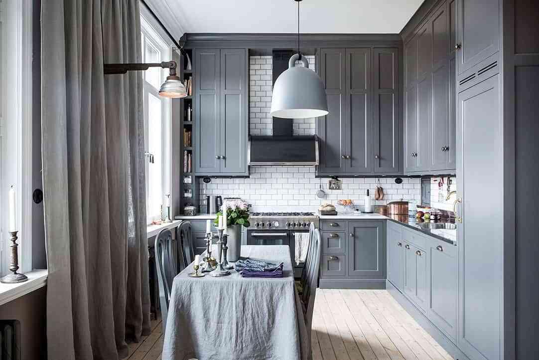 10 claves para combinar el gris marengo en decoración