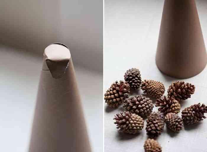 ideas de como hacer un arbol de navidad 3 Ideas Geniales Para Hacer Un Rbol De Navidad Con Pias