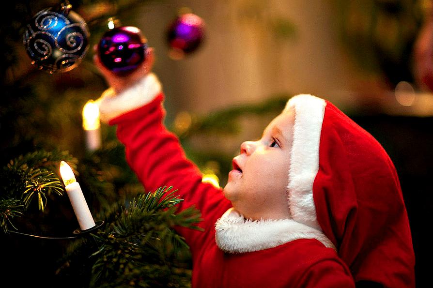 arbol de navidad perfecto para bebes duck on e row
