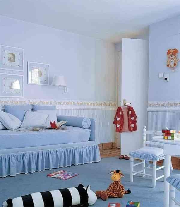 Cenefas de dibujos para habitaciones infantiles - Pintar dormitorio infantil ...
