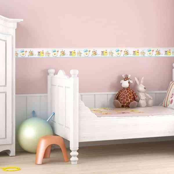 Cenefas de dibujos para habitaciones infantiles