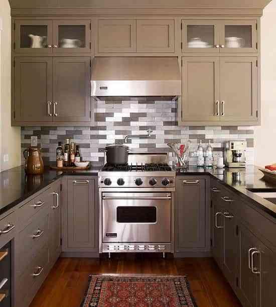 C mo distribuir cocinas de 6 metros cuadrados para for Cocina 15 metros cuadrados