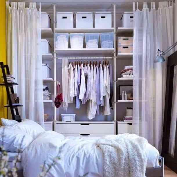 vestidor barato organizado