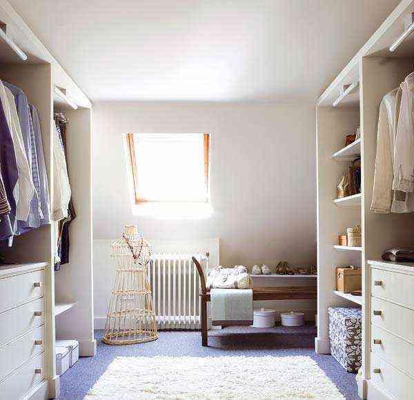 vestidor pequeño en paralelo