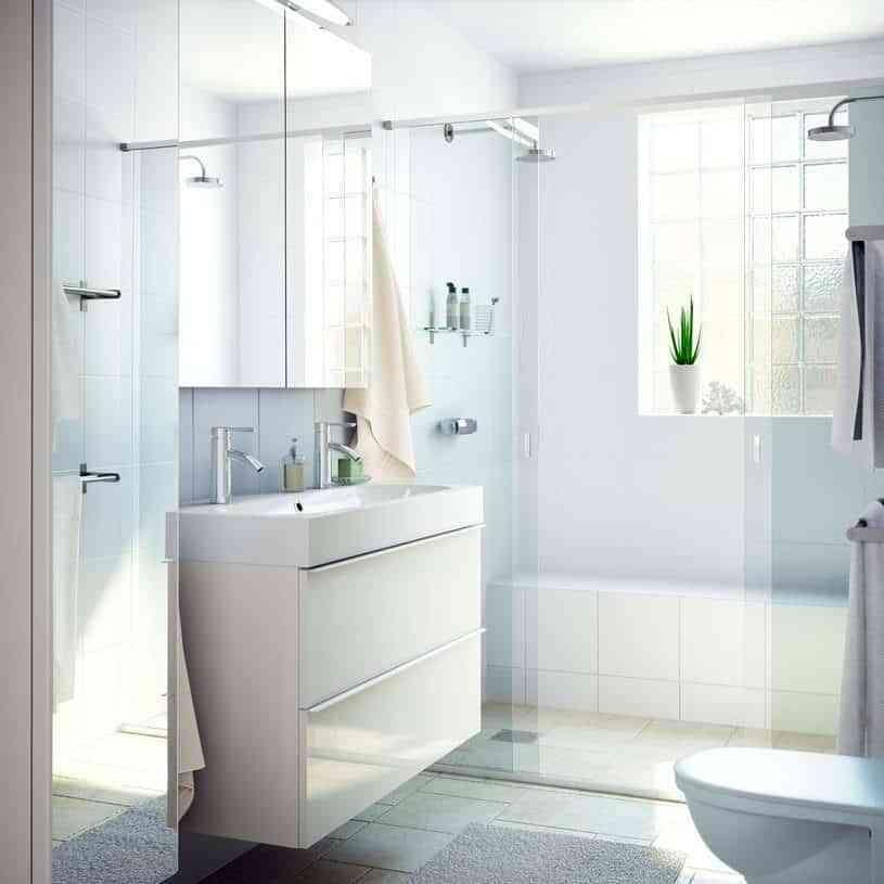 casa al día - baño