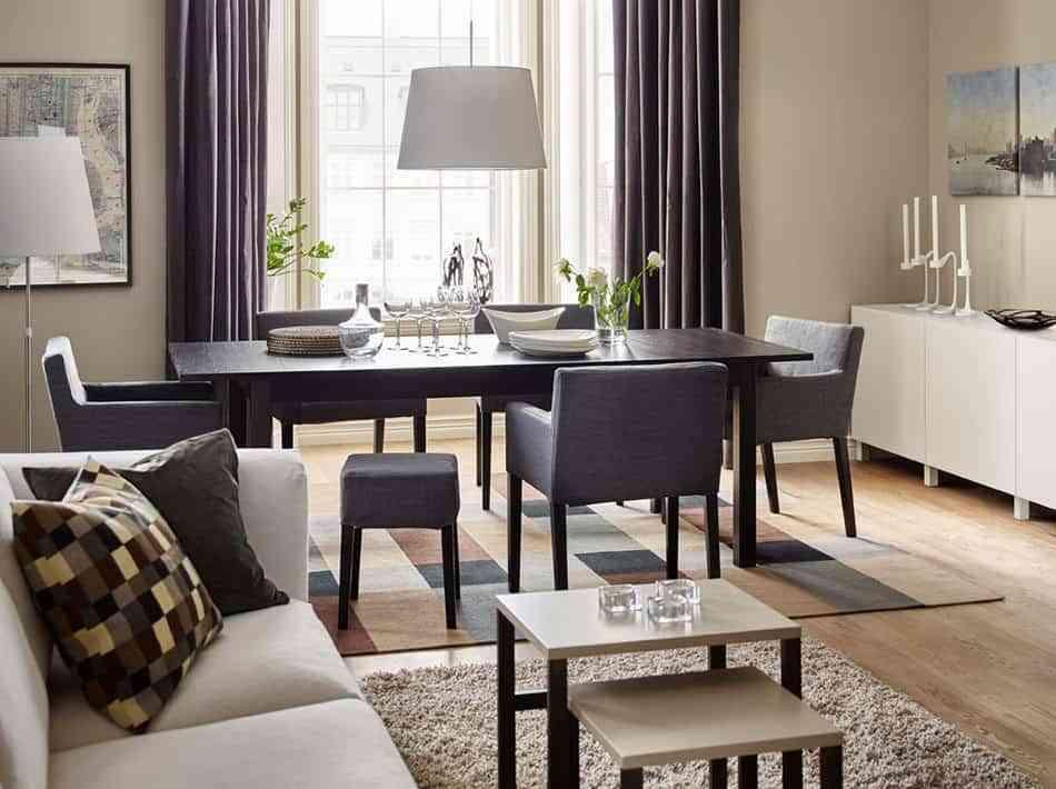 elegir la mesa de comedor ikea grande