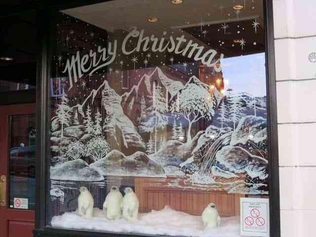 Decorar Tienda Para Navidad.6 Originales Ideas Para Montar Escaparates De Navidad