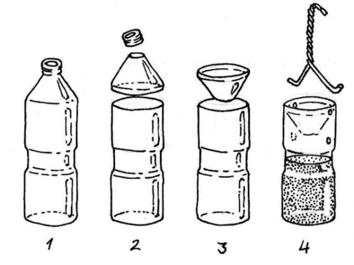 matamoscas casero con botellas