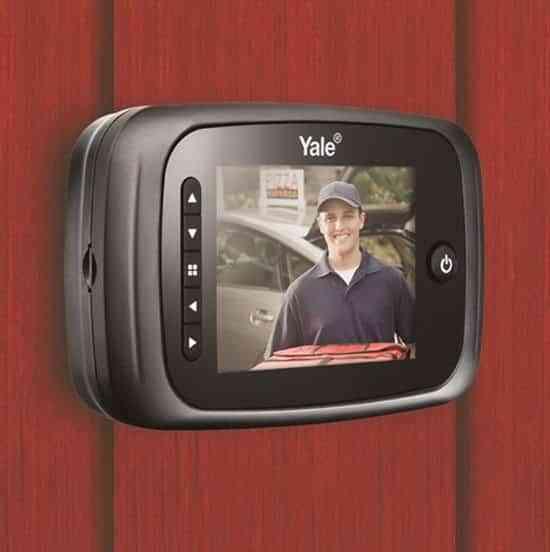 Qu es una mirilla digital y c mo puedes instalarla t mismo - Mirilla puerta digital ...