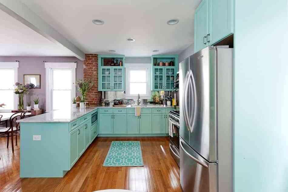 pintar los muebles de la cocina una idea genial