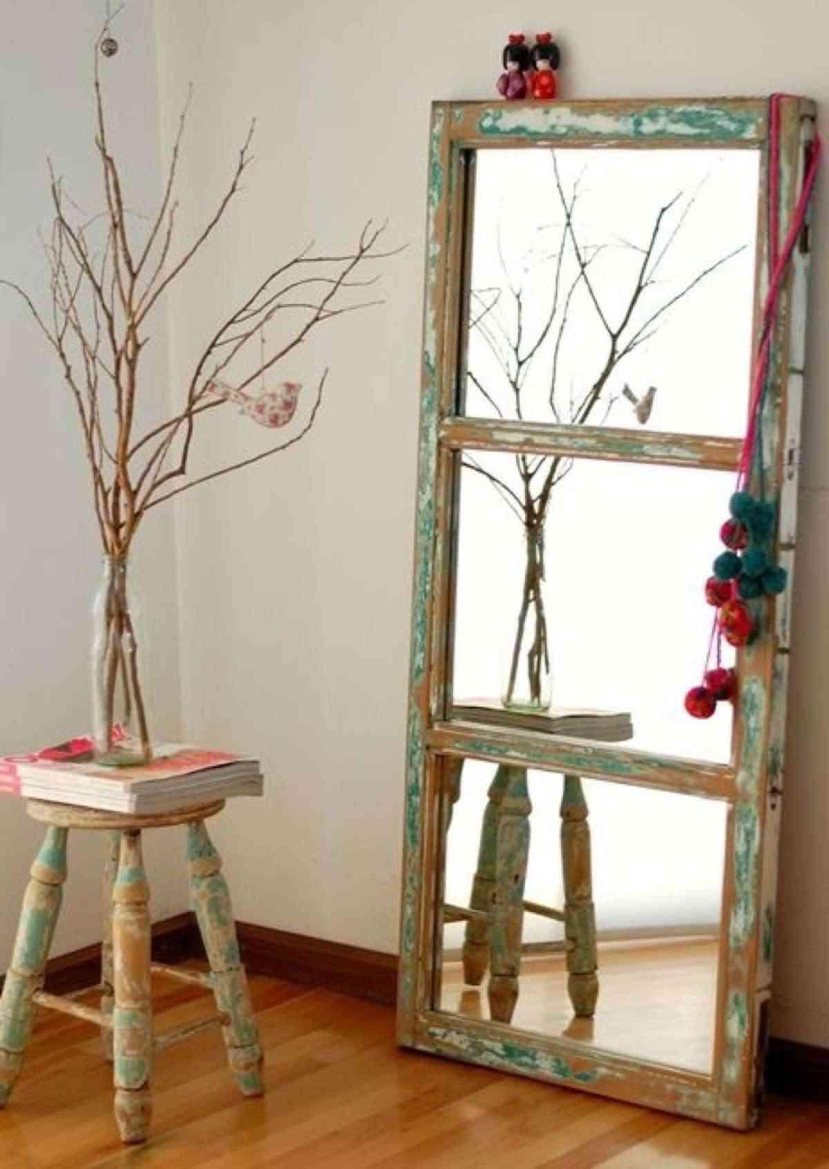 Ideas para usar las ventanas antiguas para decorar | masluzmx