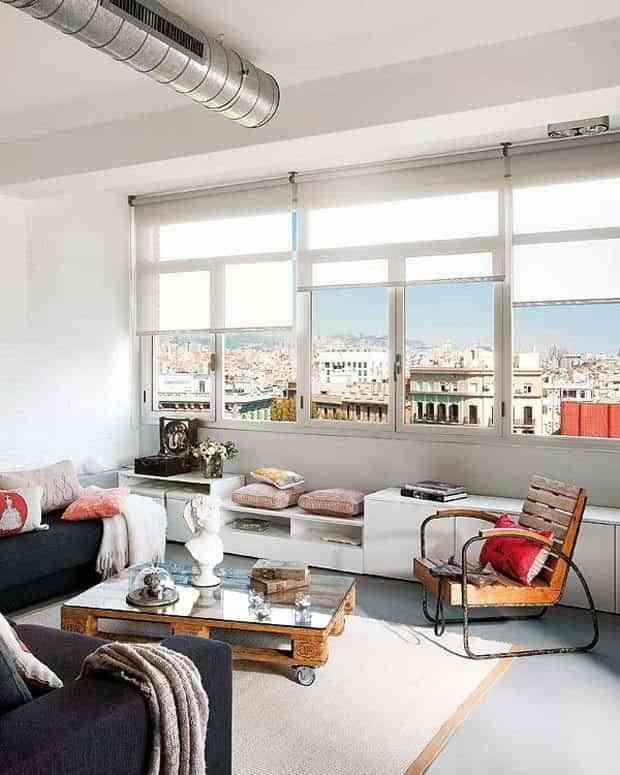decorar habitación con poco dinero - palets