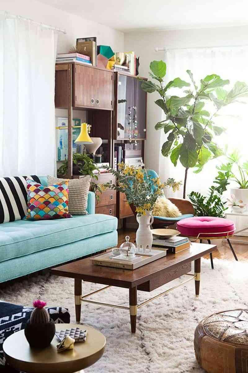 decorar habitación con poco dinero - plantas
