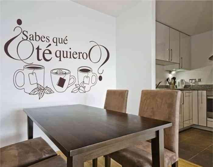 decorar habitación con poco dinero - Vinilos decorativos