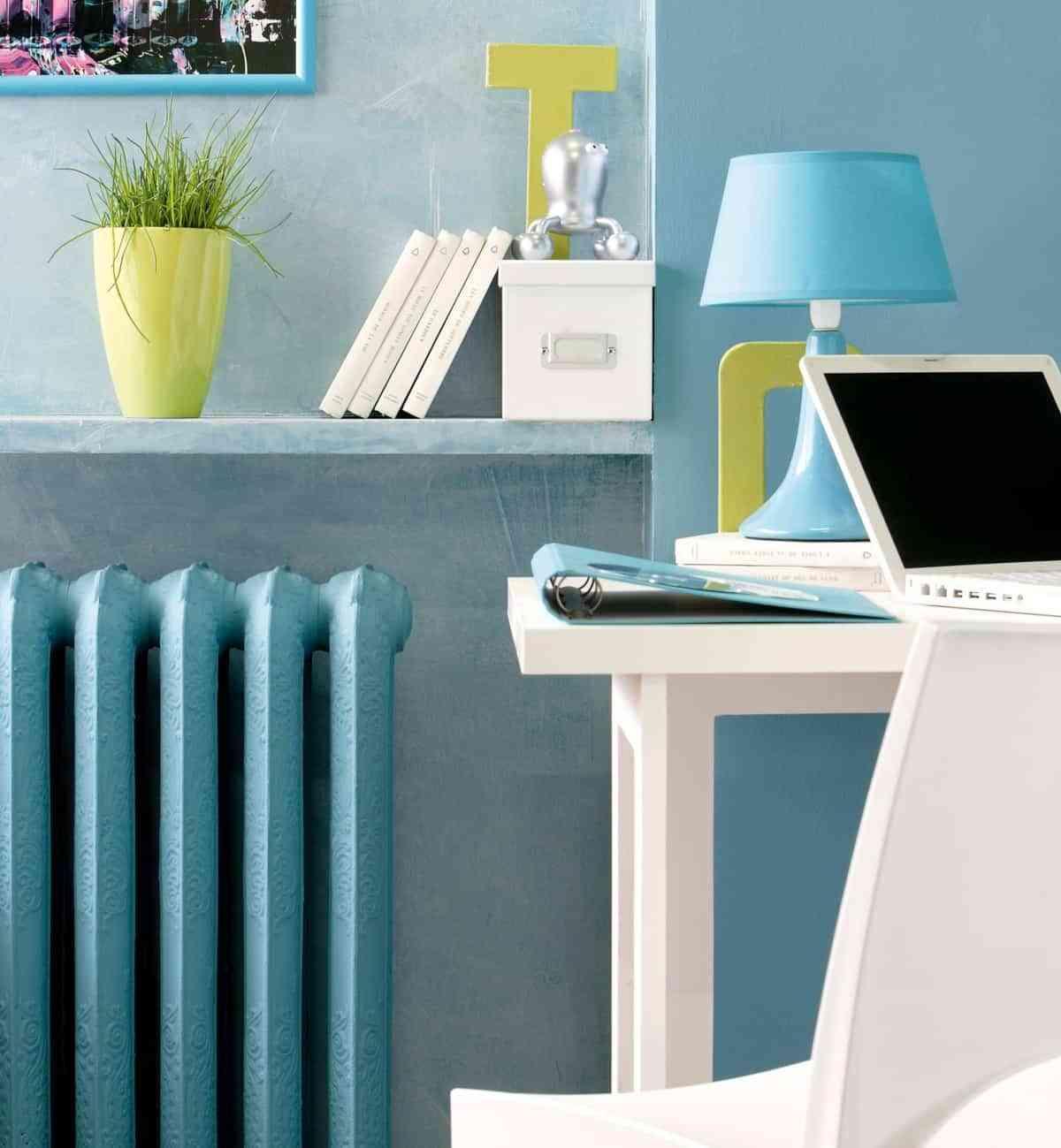 decorar habitación con poco dinero - pintar radiadores