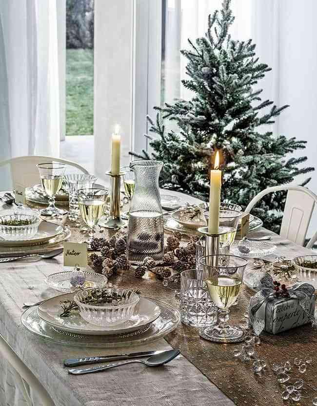 Adornar la mesa de navidad latest affordable with decorar - Adornar la mesa para navidad ...