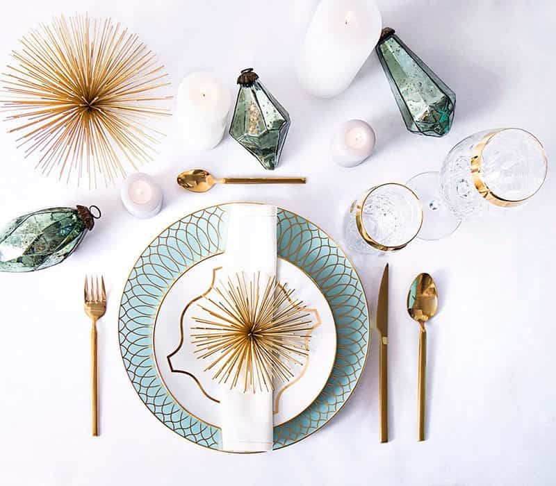 adornar la mesa de navidad westwing exotica