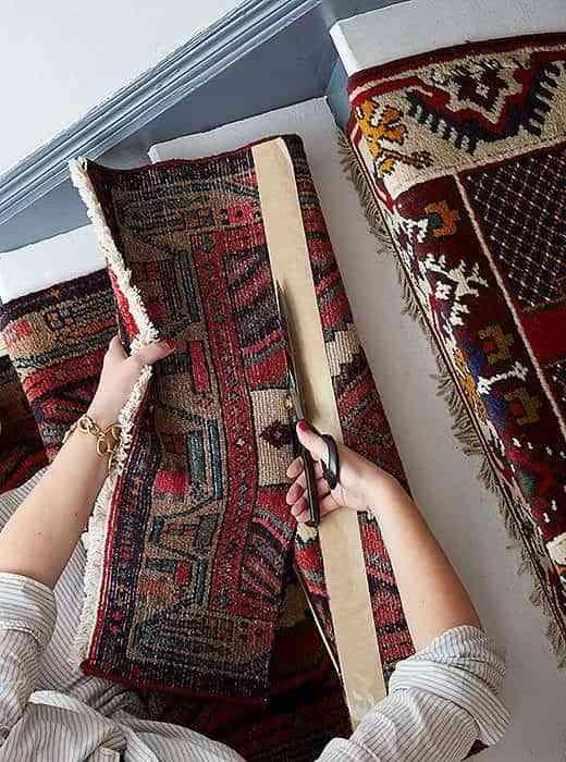alfombra-vintage-para-la-escalera-cortar-para-cinta