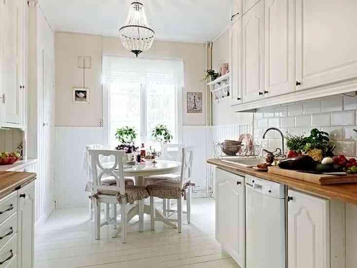 decorar pisos antiguos - cocina