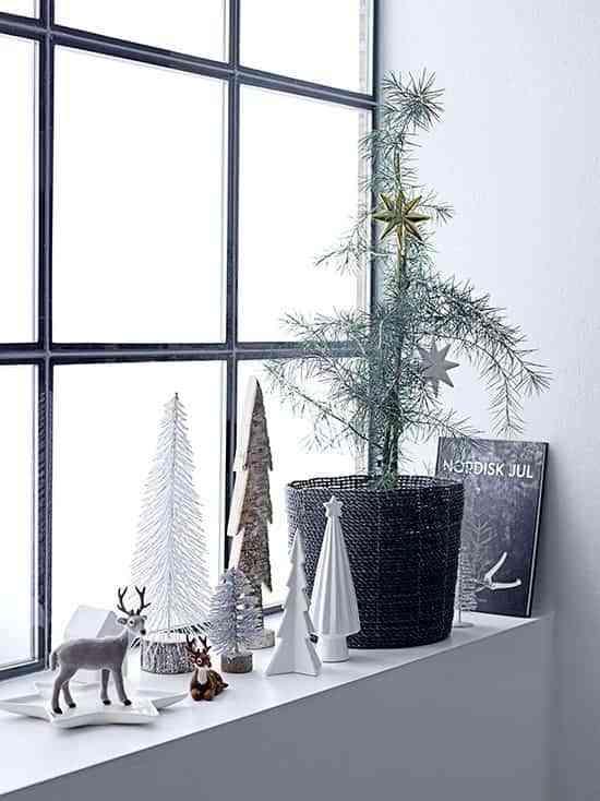 decoracion de ventanas de navidad blaubloom