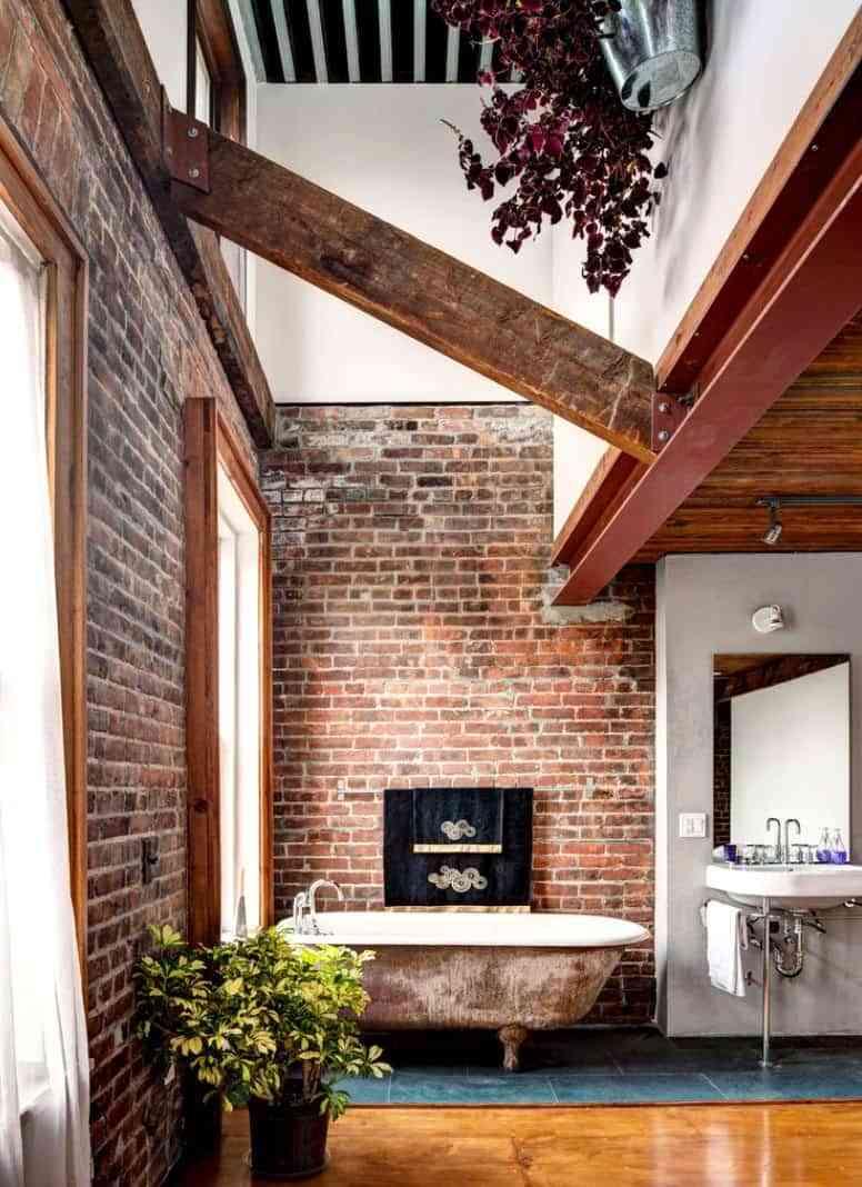 C mo incorporar las paredes de ladrillo visto en la for Decoracion de paredes modernas