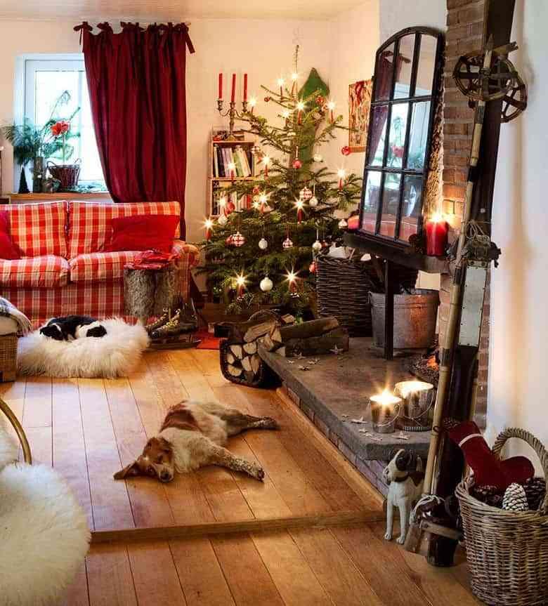 navidad de estilo rustico westwing