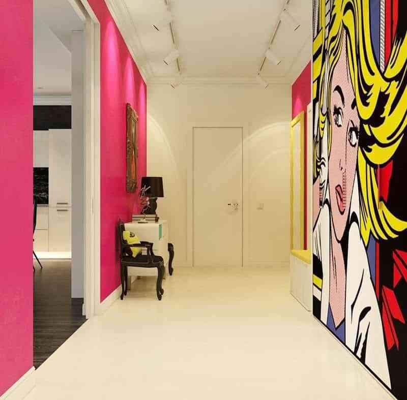 pintar-el-recibidor-de-casa-colores-intensos