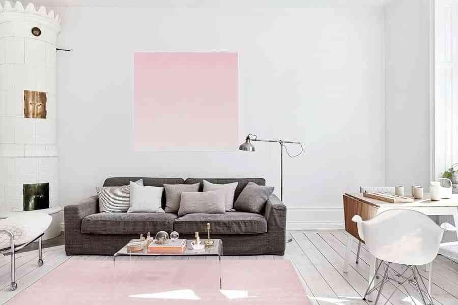 decoración color rosa en accesorios