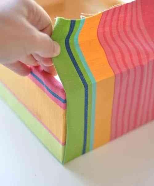 cajas con tela canto 8