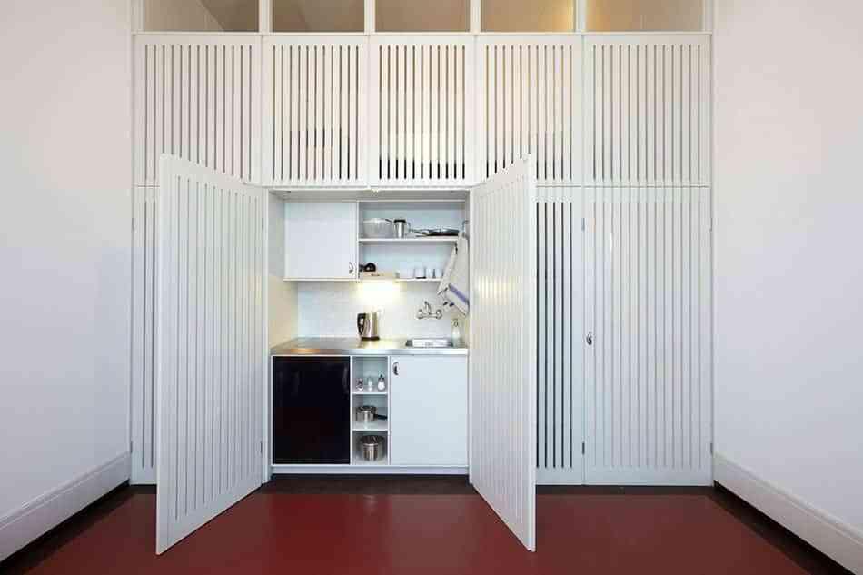 cocinas escondidas en armarios hagia sophia