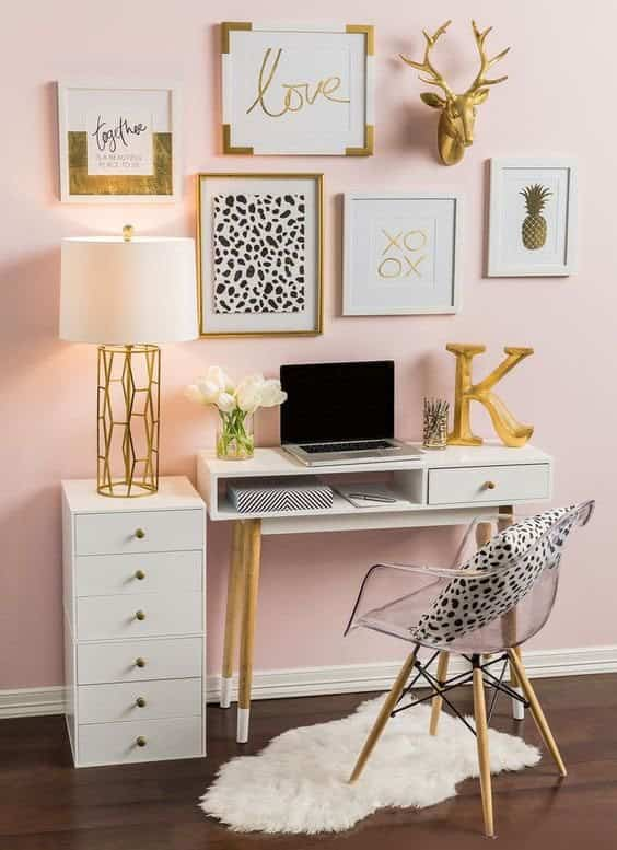color rosa para decorar hobby lobby