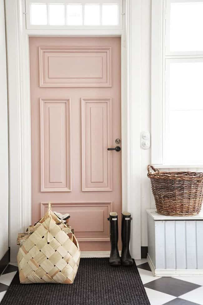 color rosa para decorar homedit