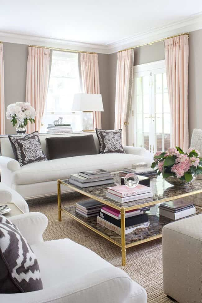 color rosa para decorar the well appointed house