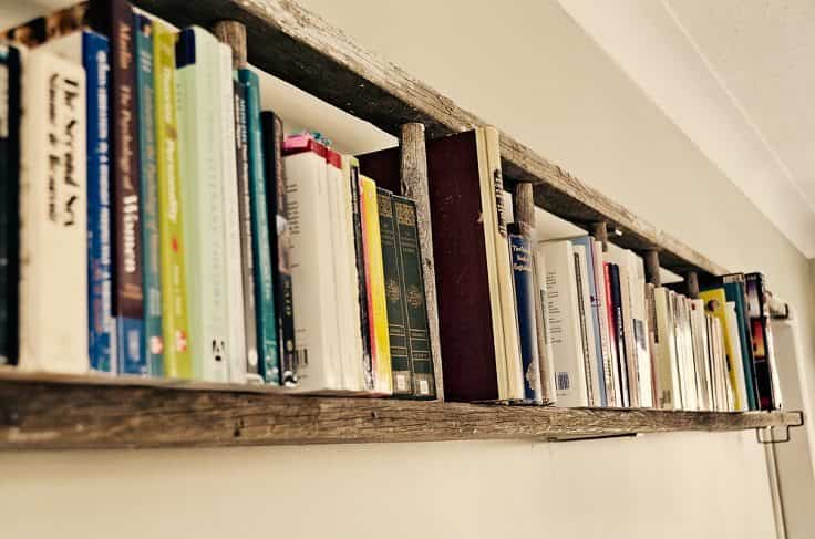 decorar con una escalera top inspired horizontal shelf