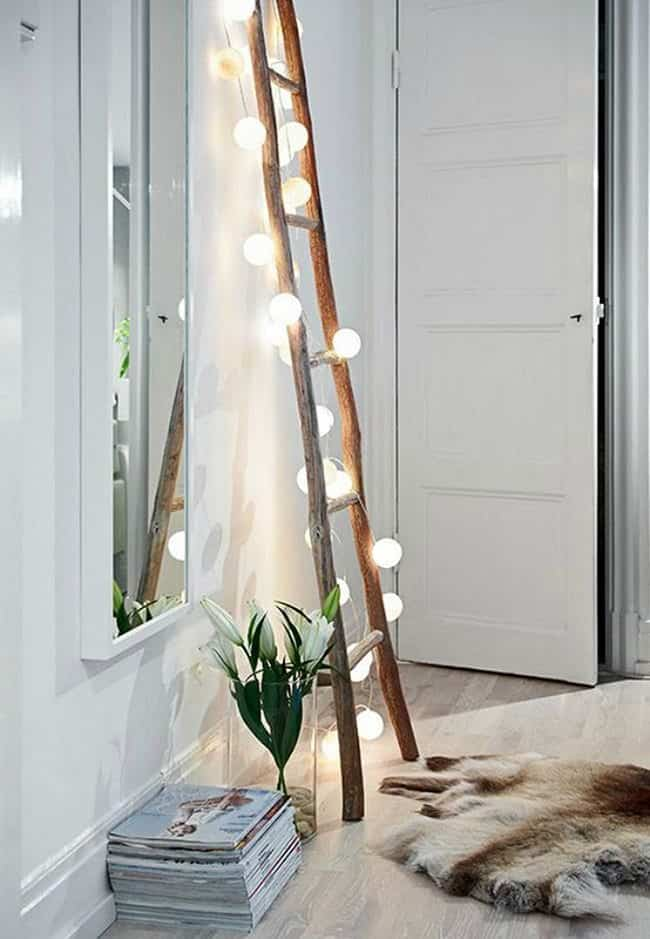 decorar con una escalera top inspired luz