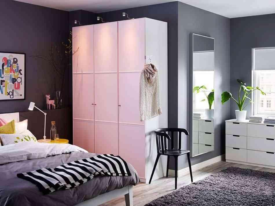 disenos-de-puertas-de-armario-ikea-rosa