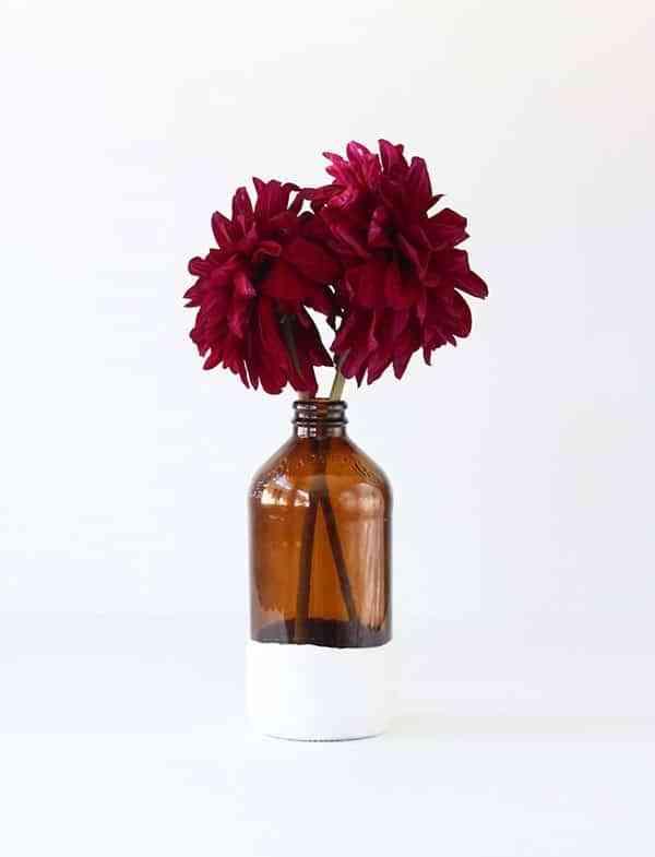 manualidades con escayola florero 2