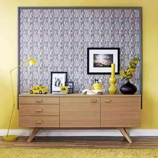 molduras decorativas y papel pintado apartment therapy 2