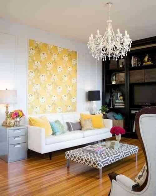 molduras decorativas y papel pintado Squared