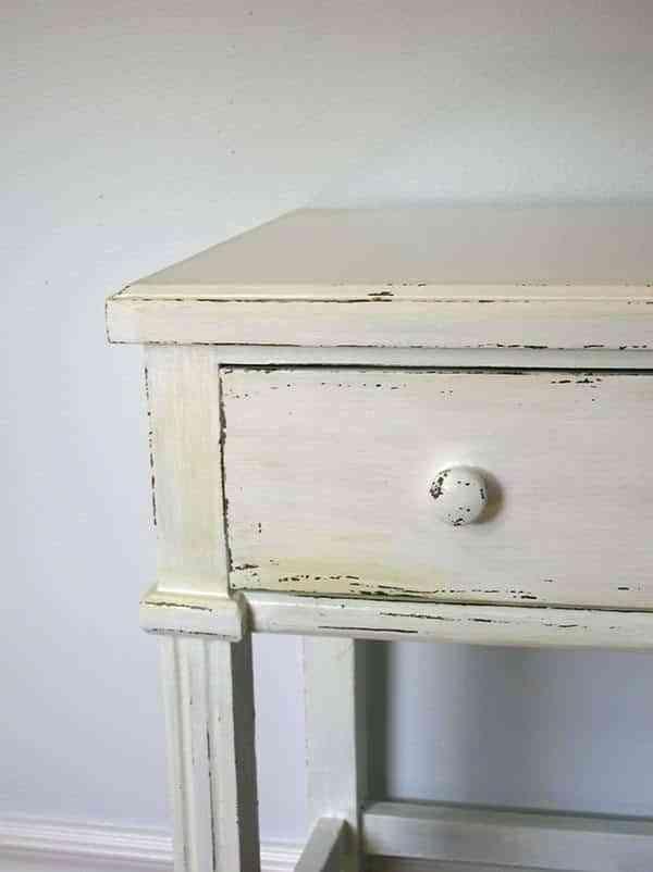 Decora y renueva tu casa con un mueble blanco envejecido - Muebles blanco envejecido ...