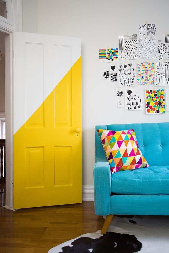 paint interior decoist doors