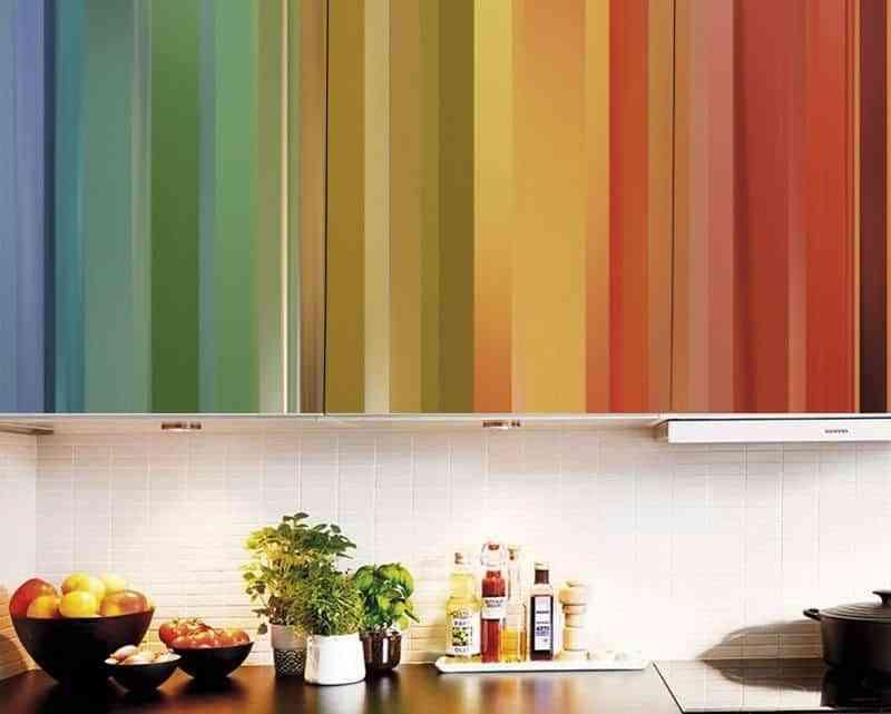 revestir un mueble con vinilo loko colores
