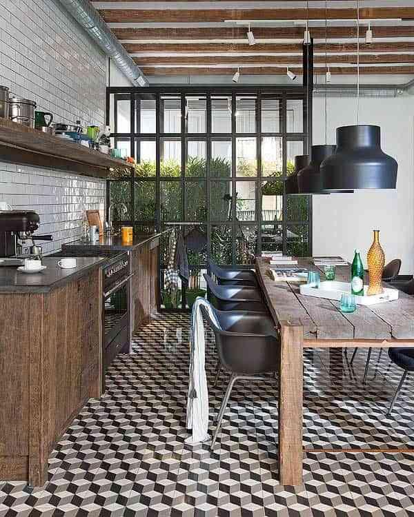 suelos de cocina modernos doorsixteen tiles