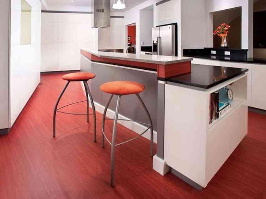 Apuesta por los suelos de cocina modernos m s resistentes y decorativos - Suelos para cocinas modernas ...