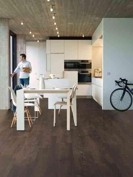 suelos de cocina modernos laminado quick step