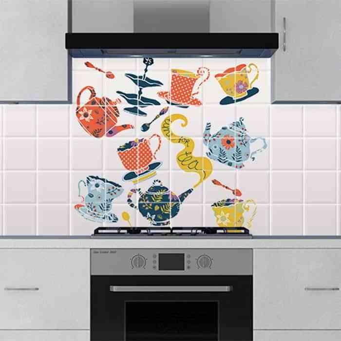 decorar la cocina y el ba o con vinilos para azulejos