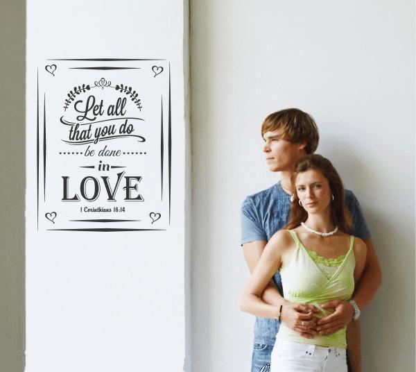vinilos para enamorados simple stencil
