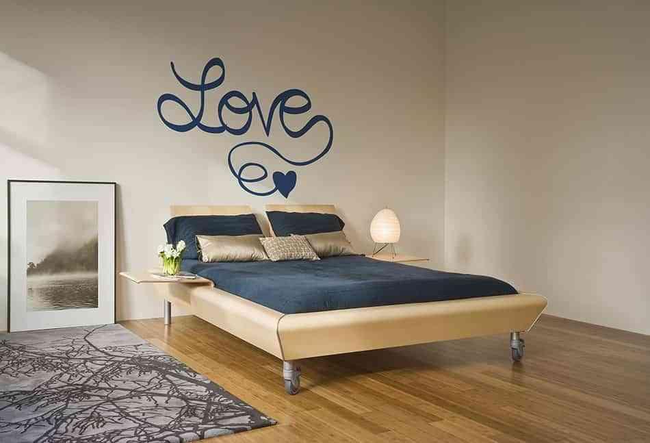 vinilos para enamorados tenvinilo cama love