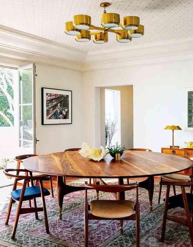 Elige una mesa redonda para el comedor y disfrútala cada día
