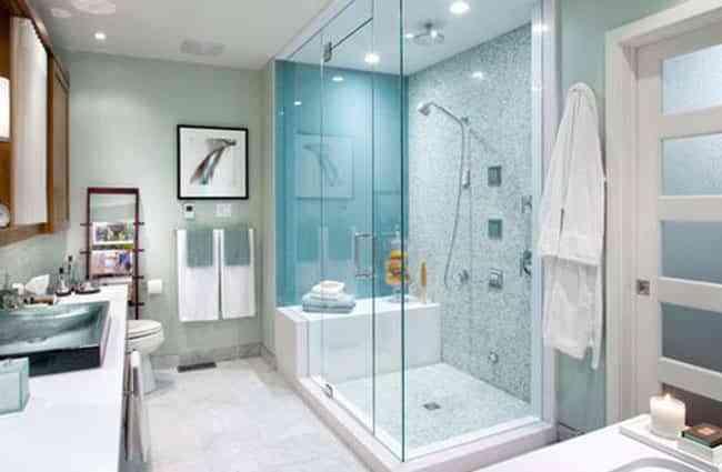 Quitar baera y poner ducha mismo da le cambiaron la baera - Quitar banera y poner plato de ducha ...